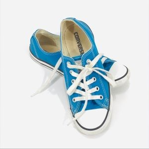 Converse Blue Low-tops Womens Size 6